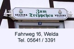 Zum Treppchen Welda