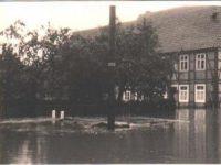 Welda Hochwasser 1965 - alte Muehle