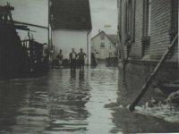 Welda Hochwasser 1965 Kohlwiese