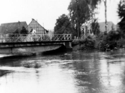 Hochwasser Welda 1965